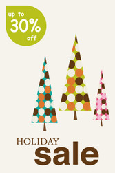 Holiday Sale Posters Style 2700