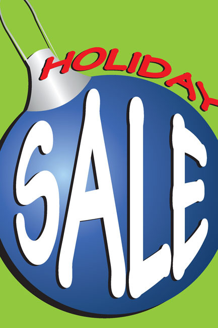 Holiday Sale Posters Style3700