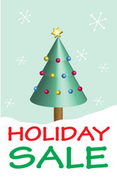 Holiday Sale Posters Style 3800