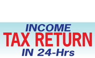 Income Tax Banners-Vinyl-Outdoor 3500