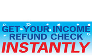 Income Tax Banners-Vinyl-Outdoor 3800