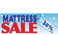 Mattress Sale Outdoor Advertising Vinyl Banner Sign Style 1000