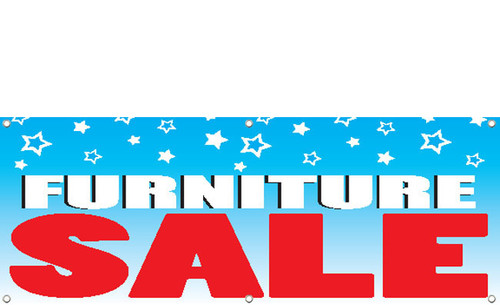 Furniture Sale Banner Sign Style 1000