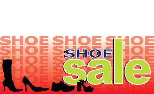 87c34b59c Custom Swooper Flags & Banner Flutter Shoe Sale Banner: Shoe Sale Banner Design  ID#1000