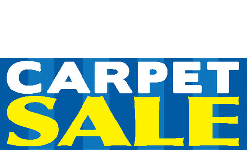 Carpet Sale Banner Sign