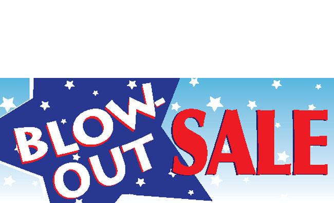 Blowout Sale Banner Design Id 1000 Dpsbanners Com