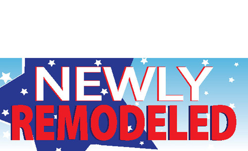 Newly Remodeled Vinyl Banner Sign Style 1000