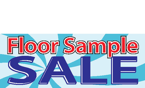 Floor Sample Sale Sign Banner Style 1000