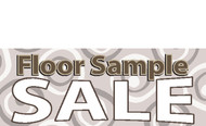 Floor Sample Sale Banner Sign Style 1100