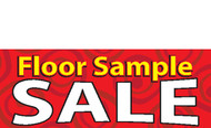 Floor Sample SALE Banner Style 1200