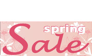Spring Sale Outdoor Vinyl Banner Sign Style 1000