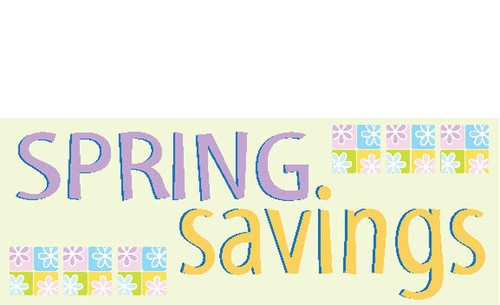 Spring Sale Advertising Outdoor Vinyl Banner Sign Style 1200