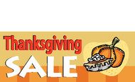 Thanksgiving Sale Banner 1100