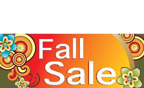 Fall Sale Banner Signage Design Idea