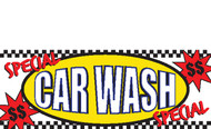 CAR WASH VINYL BANNER SIGN