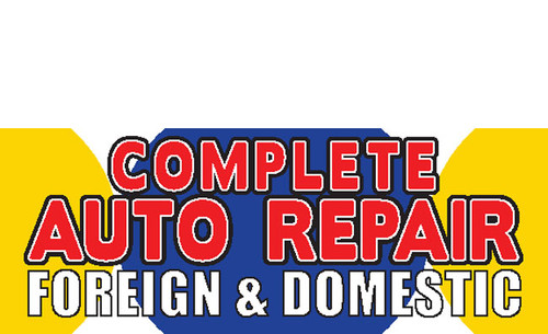 Complete Auto Repair Banner Sign Style 1900