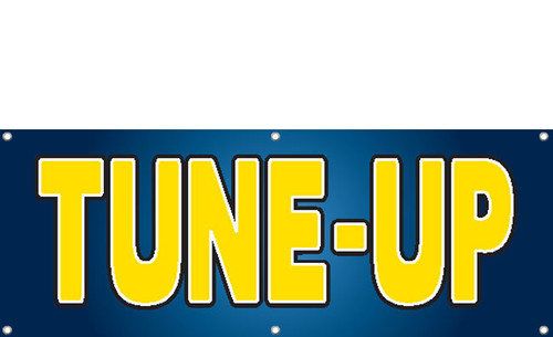 TUNE-UP Banner Sign Style 2100