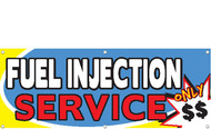 Fuel Injection Service Banner Sign Style 2300