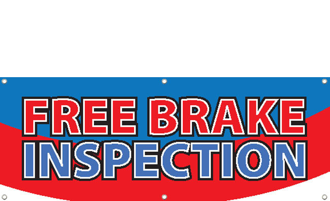 Free Brake Inspection Near Me >> Automotive Signs Banners Design Id 2600 Dpsbanners Com