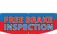 Free Brake Inspection Banner Style 2600