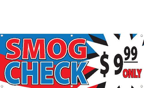 SMOG CHECK BANNER STYLE 2800