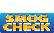 Smog Check Sign Banner Style 2900