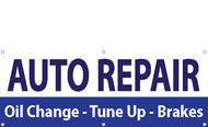 Auto Repair Multi-Color Vinyl Banner Sign