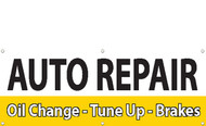 Auto Repair Oil Change-Tune Up Banner Sign