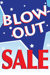 Blowout Sale Posters Style1000