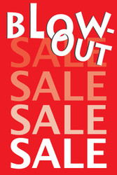 Blowout Sale Posters Style1300