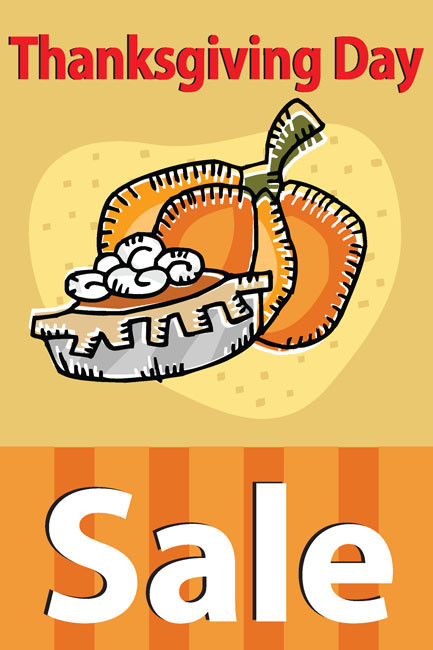 Thanksgiving Sale Posters Style1100