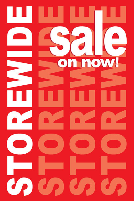Storewide Sale Posters Style1200