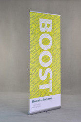 Boost Banner Stand Retractable Roll Up