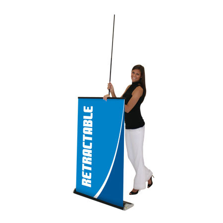 Elevate Retractable Banner Stand Installation