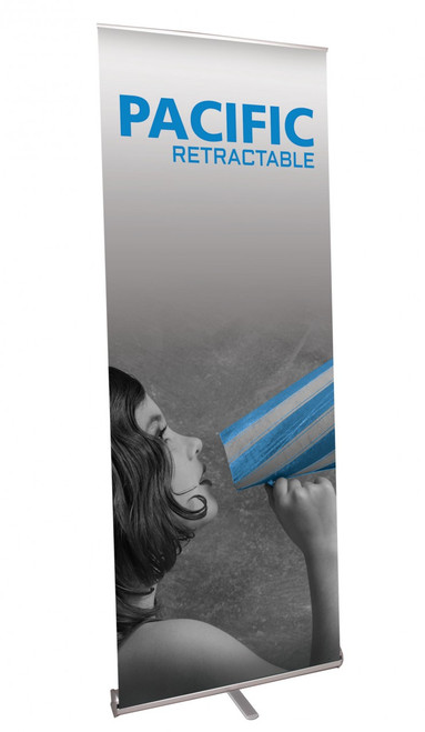 Pacific 800 Retractable Banner Stand PAC-800-S-2