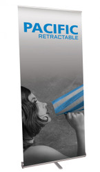 Pacific 1000 Retractable Banner Stand PAC-1000-S-2
