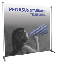 Adjustable Banner Stand PEGASUS