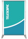 Adjustable Banner Stand 8x8 ft