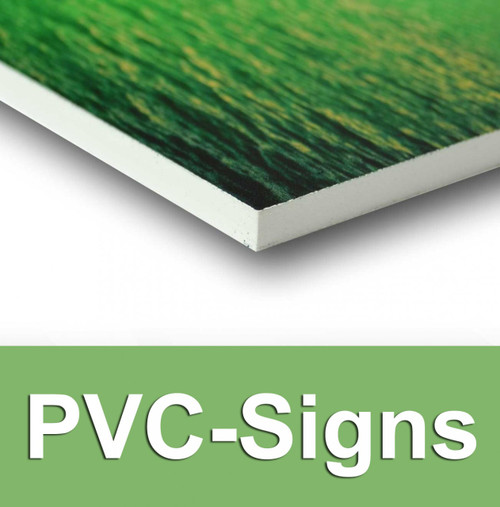 Pvc Signs Viny Sign Quality Custom Printed Displays