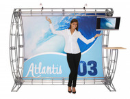 The Atlantis 03 Trade Show Truss Kit