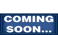 Coming Soon Banner Sign Style 1400