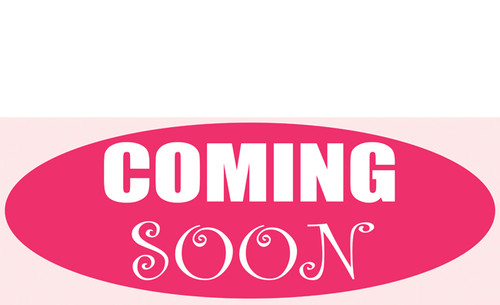 Coming Soon Banner Sign Style 1900 Oval Design