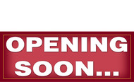 Opening Soon Banner Sign Style 1000