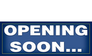 Opening Soon Banner Sign Style 1100