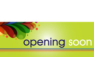 Opening Soon Banner Sign style 1700