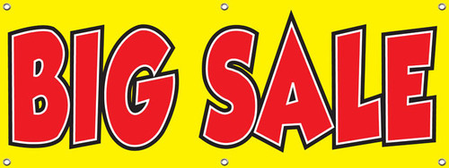 big sale banner sign style 1000 retail store advertising