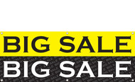 Big Sale Sign Banner Style 1100