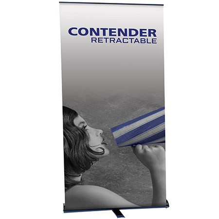 Contender Monster Retractable Banner Stand 47.5""