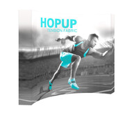 Hopup 8ft curved full graphic