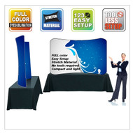 EZ Wave Snap Tube Display Curved Table Top Two Sided
